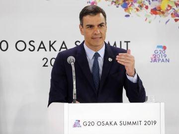 Sánchez en la cumbre del G20