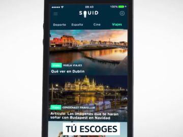 Antena 3 Noticias, ya disponible a través de la app de Noticias 'Squid'