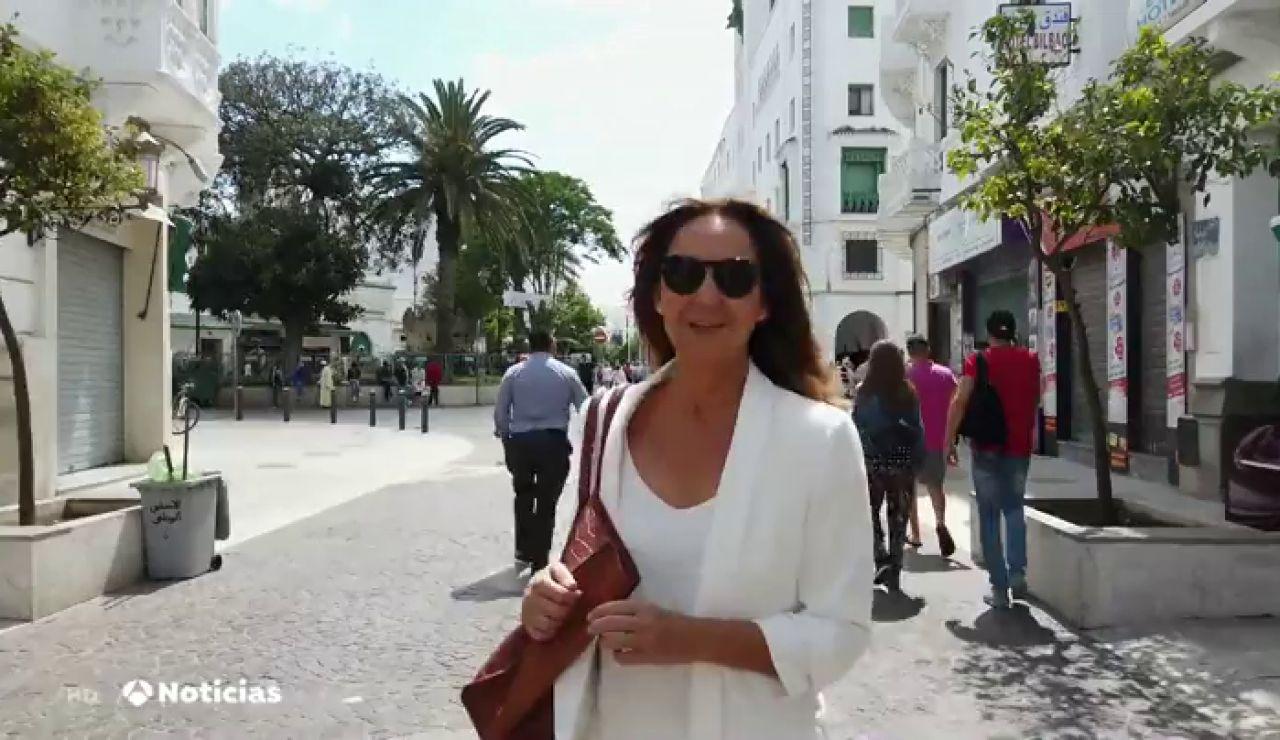 """María Dueñas, sobre 'El tiempo entre costuras': """"Se vive con los cinco sentidos"""""""