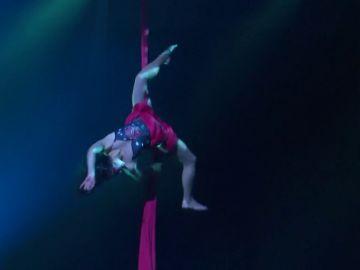 El Cirque du Soleil lleva a Andorra 'Rebel', un homenaje a los iconos masculinos de la música