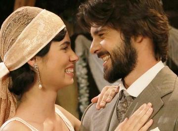 María y Gonzalo en 'El secreto de Puente Viejo'