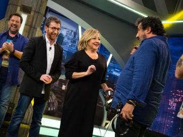 Carlos Latre ha conseguido desatar las risas con el 'Teléfono escacharrado de imitaciones' en 'El Hormiguero 3.0'