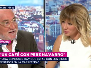 Un café con Pere Navarro.