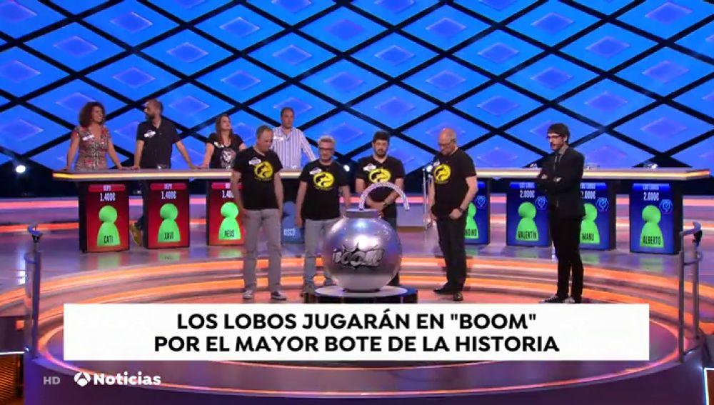 'Los Lobos' jugarán en '¡Boom! por el mayor bote de la historia