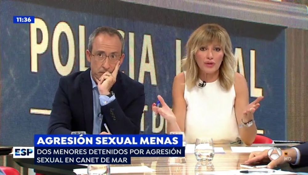 Agresión sexual de menas