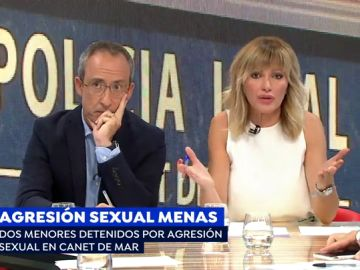 Agresión sexual de menas