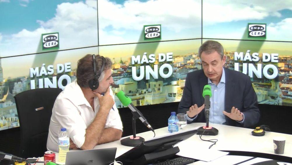 """Zapatero: """"Decir que soy partidario de los indultos es un fake que denuncio"""""""