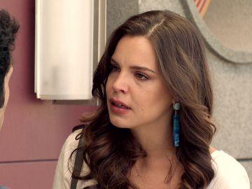 María le anuncia a Ignacio que sigue embarazada