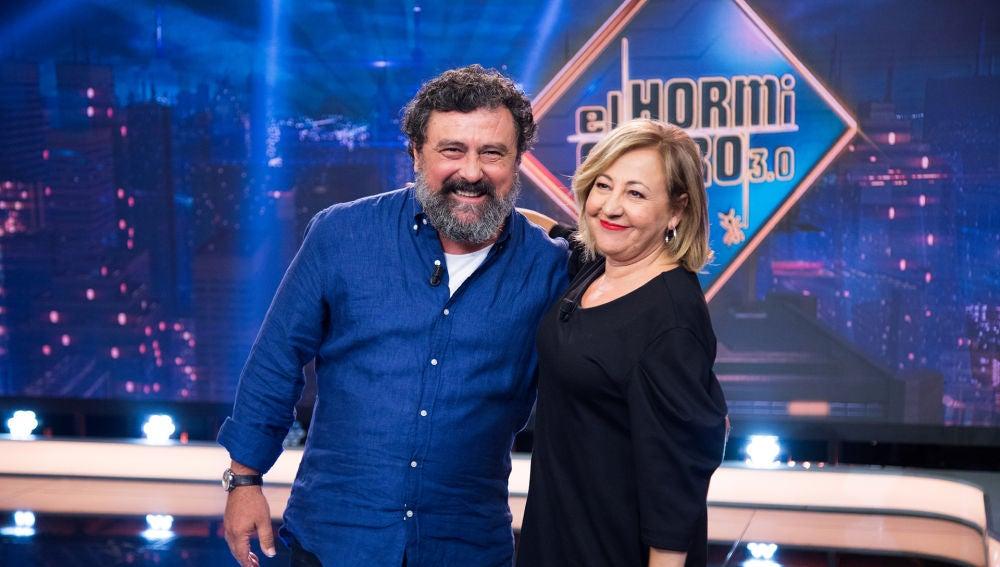 Revive la entrevista completa de Paco Tous y Carmen Machi en 'El Hormiguero 3.0'