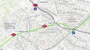 Plano del Metro de Madrid