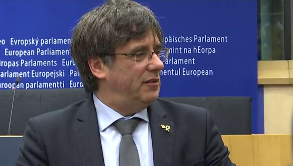 Puigdemont quiere estar en la constitución del Parlamento europeo