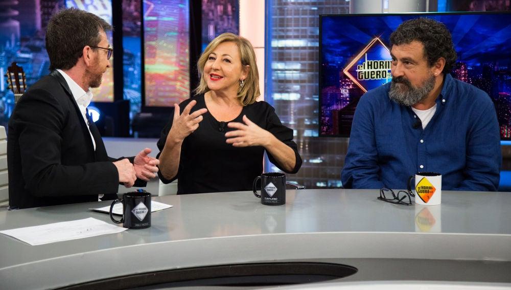 "Carmen Machi: ""Yo tengo como referente a Manuela Carmena"""