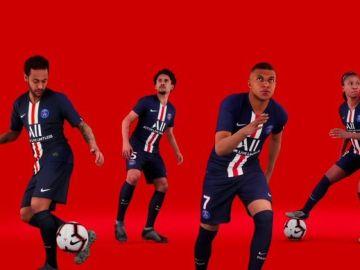 Neymar y Mbappé, protagonistas de la nueva campaña del PSG