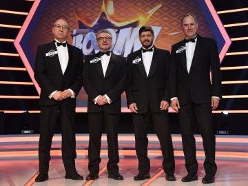 'Los Lobos' cumplen 500 programas en '¡Boom!' de una manera muy elegante
