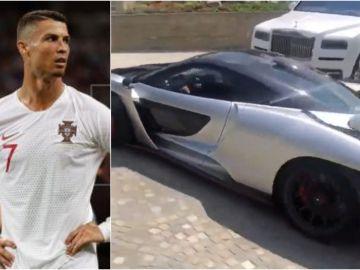 Cristiano luce su flamante coche por Lisboa