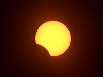El eclipse solar, en directo