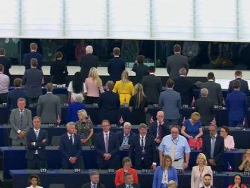 La novena legislatura del Parlamento Europeo comienza con varias protestas
