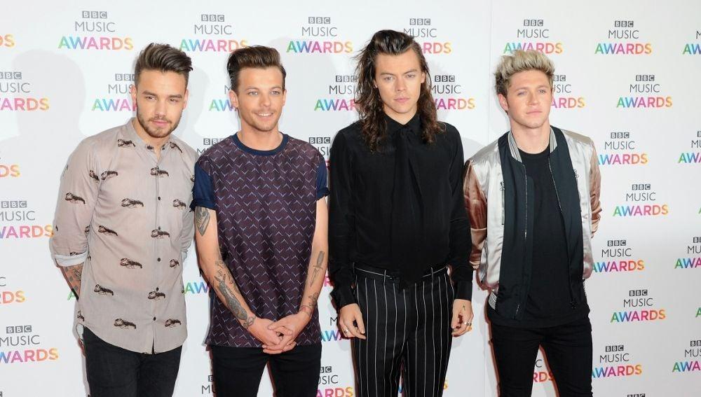 Los miembros de One Direction