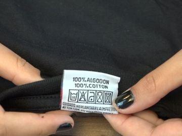 Etiqueta de ropa