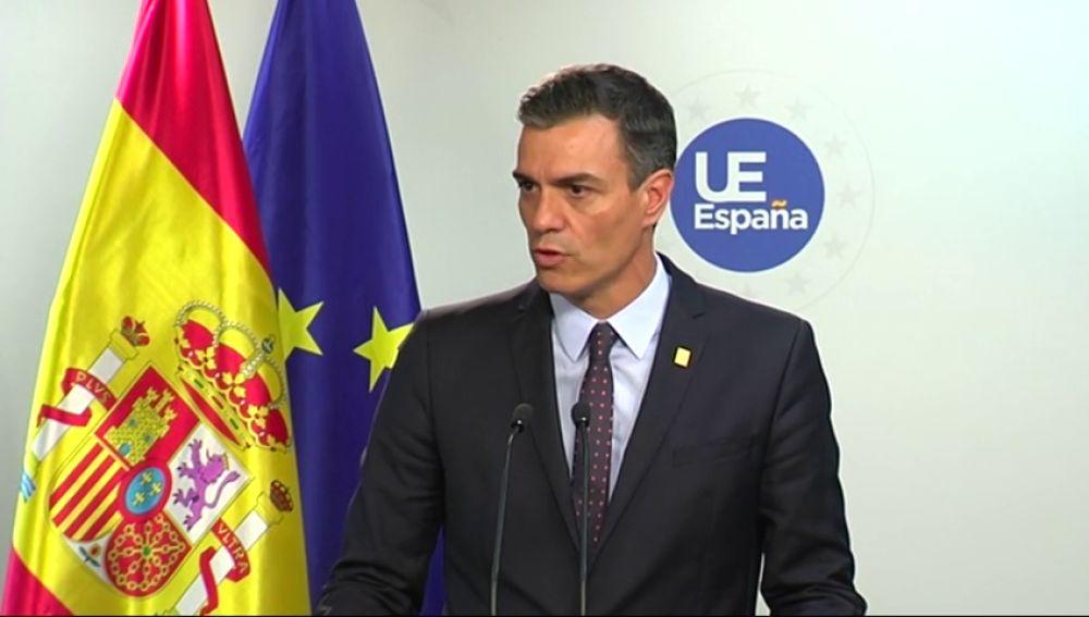"""Pedro Sánchez: """"España ha vuelto con fuerza a la Unión Europea"""""""