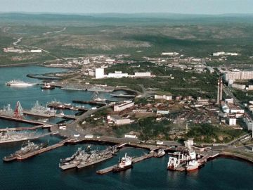 Base naval rusa en Severomorsk