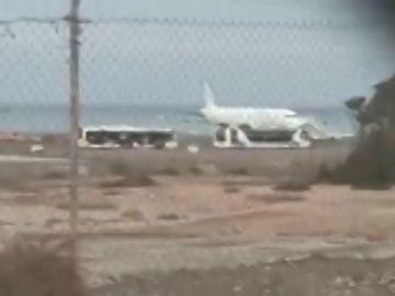 Falsa alarma de bomba en un vuelo en Fuerteventura