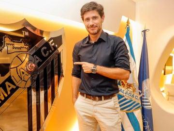 Víctor Sánchez del Amo, renueva como entrenador del Málaga