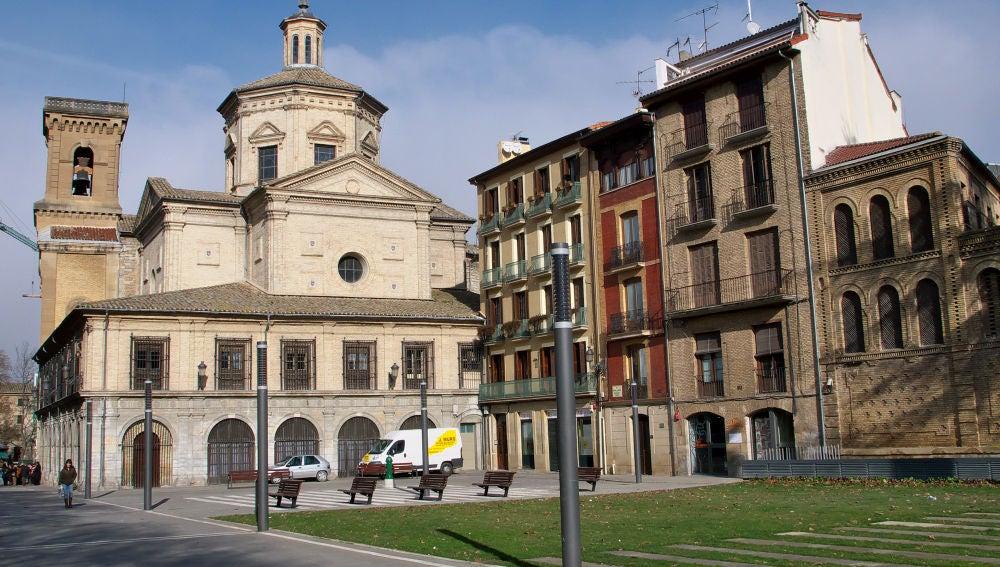 Un rayo impacta en la iglesia de San Lorenzo
