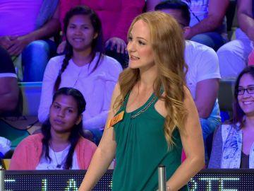 Jorge Fernández felicita a Lau por su buen panel en 'La ruleta de la suerte'
