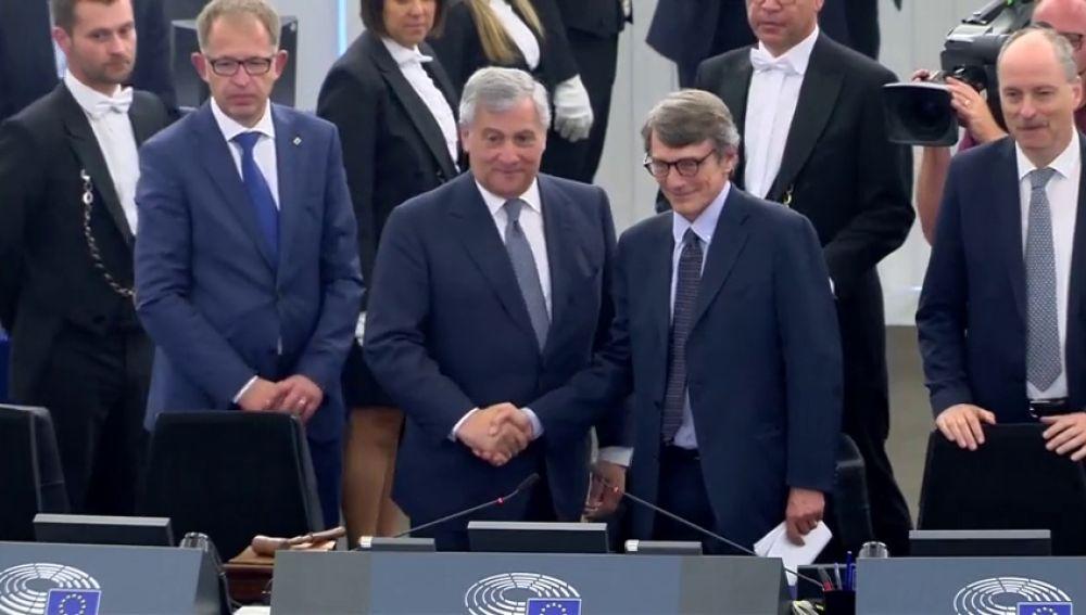 El italiano David Sassoli, un periodista veterano preside el Parlamento Europeo
