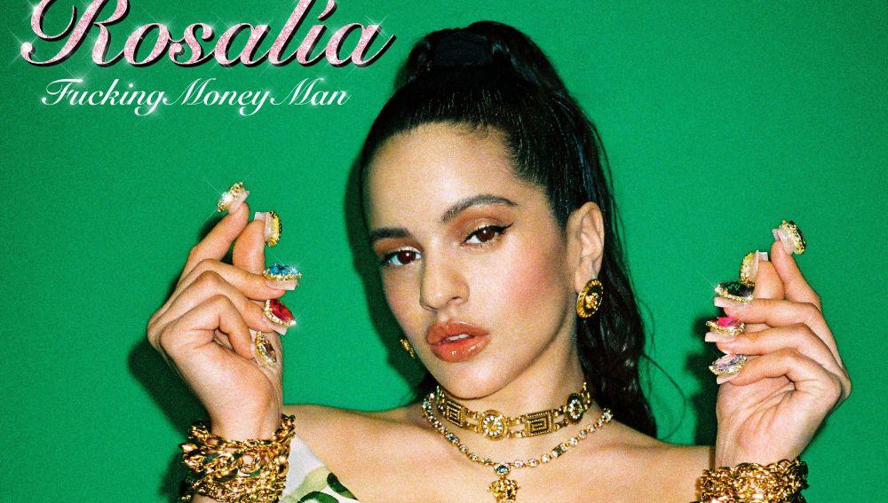 La portada del último trabajo de Rosalía