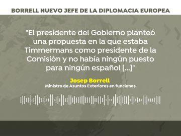 """Borrell. """"En la política exterior de la UE decidimos sobre la paz y la guerra"""""""
