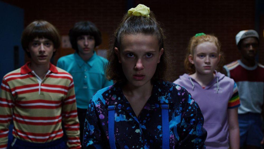 Los niños de 'Stranger Things' en la tercera temporada