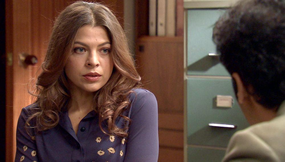 Nuria, atemorizada y bloqueada, busca la ayuda de Ignacio