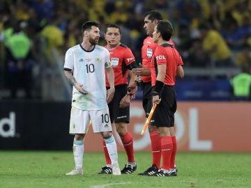 Messi explota tras caer eliminado de la Copa América