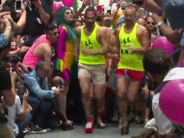 La carrera de taconces, el esperado evento deportivo del Orgullo de Madrid