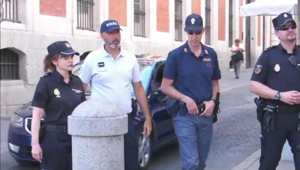 Policías extranjeros en Madrid