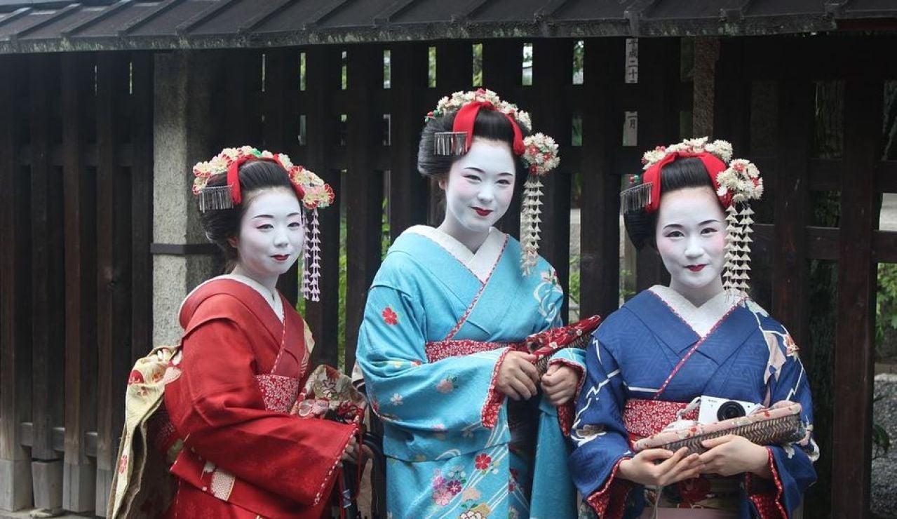 Geishas en Japón