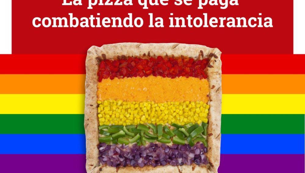 Esta es la Telepizza Rainbow
