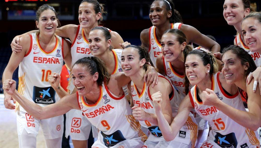 Victoria en cuartos de final de España frente a Rusia