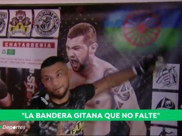 """Joel """"El pitbull gitano"""" Hernández sueña con la UFC: """"Quiero ser un ejemplo para todos los jóvenes gitanos"""""""