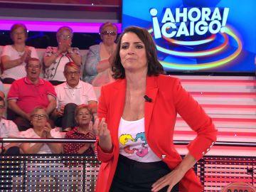 Silvia Abril se atreve a bailar el 'Paco, Paco, Paco' en '¡Ahora caigo!'