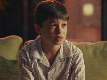 Álvaro Balas interpreta al Niño en 'Pequeñas coincidencias'