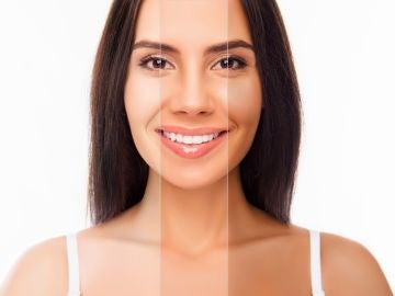 Diferentes tonos de piel