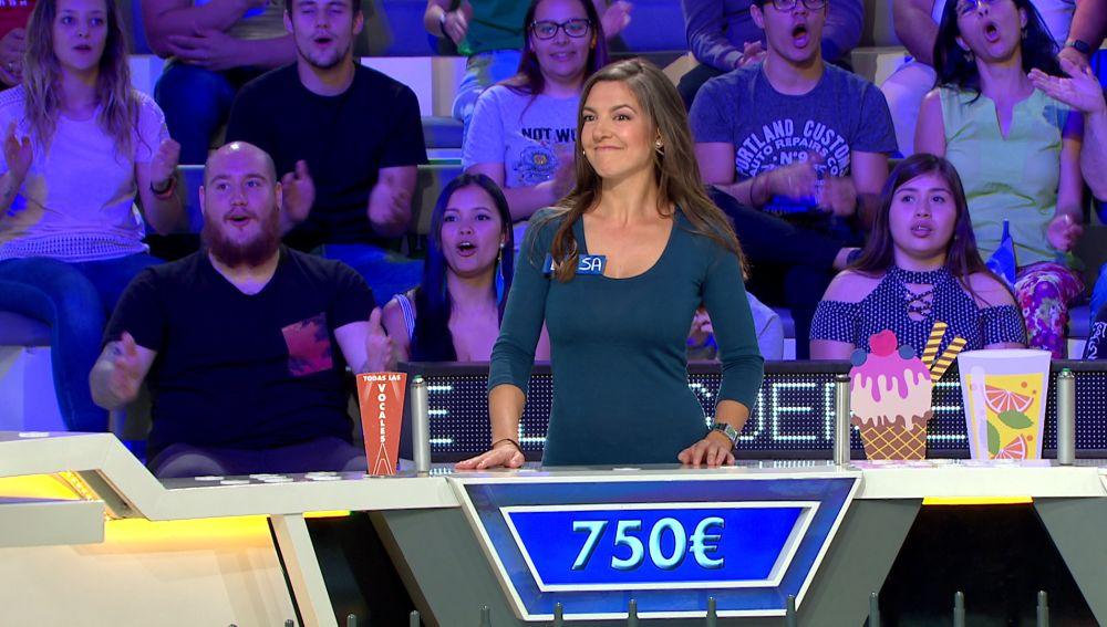 Una concursante deja impresionado a Jorge Fernández con su pronunciación francesa