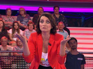 El chiste de Silvia Abril sobre camareros que la pone casi al nivel de Arturo Valls en '¡Ahora caigo!'