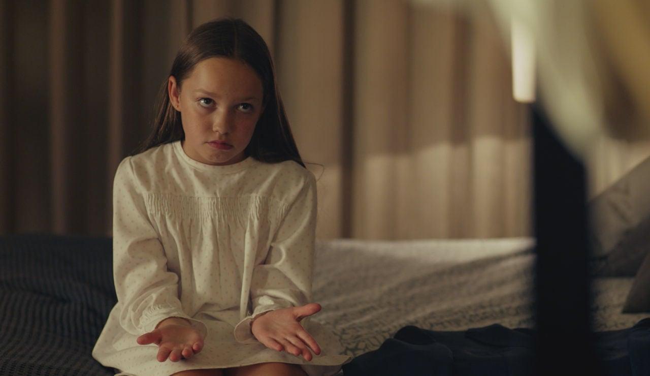 Lucía Balas interpreta a la niña en 'Pequeñas coincidencias'