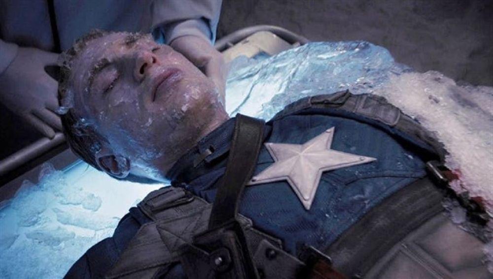 Escena de Capitán América en 'El primer vengador'