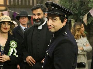 Roberto Saiz es Melitón en 'El secreto de Puente Viejo'