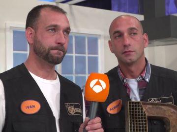 ¿Qué pareja de 'Masters de la reforma' elegirían Albert e Iván para hacer una obra en su casa?